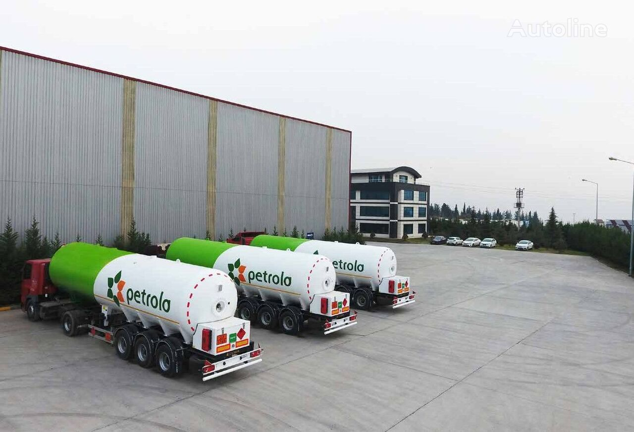new tractor unit + gas tank trailer