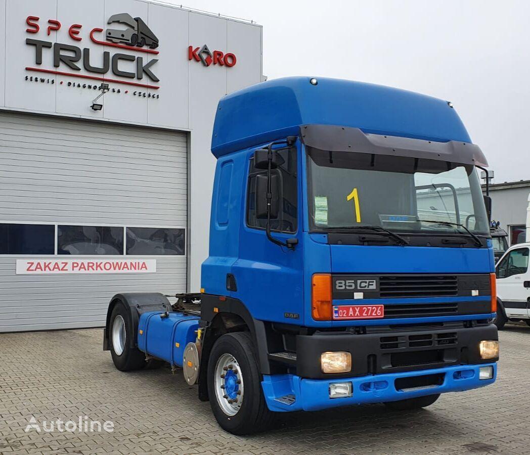 DAF CF 85 380, Steel/Air, Manual , EURO 2 tractor unit