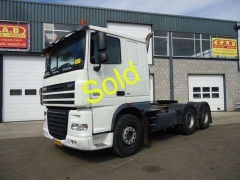 DAF XF 105.460 / 6x4 - Euro5 tractor unit