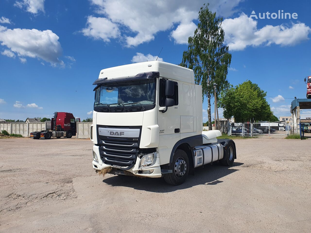 DAF XF 106.460 Dalimis tractor unit for parts