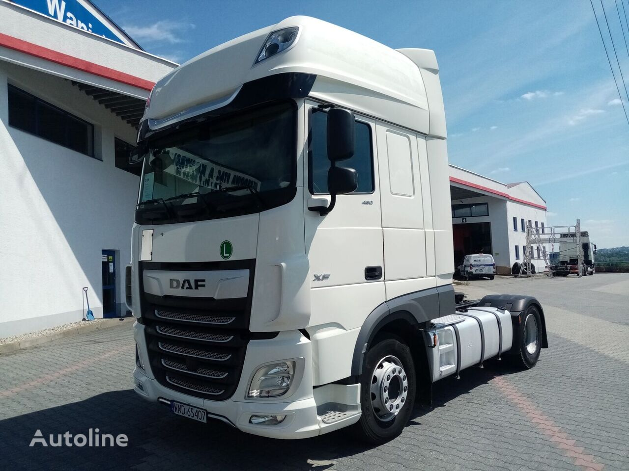 DAF XF 480 FT STANDARD tractor unit