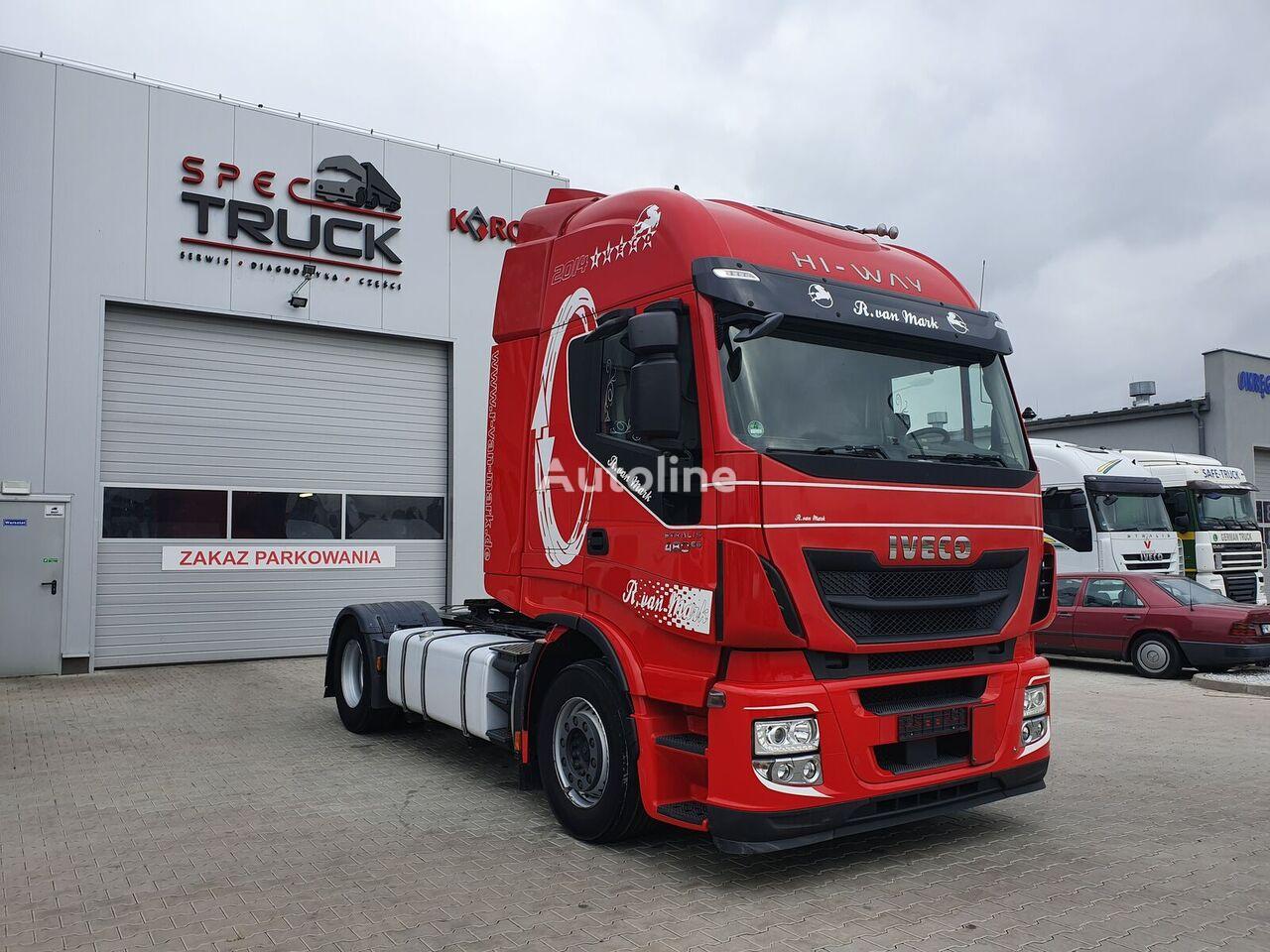 IVECO Stralis 480 HI-WAY, Steel/Air, RETARDER-M tractor unit