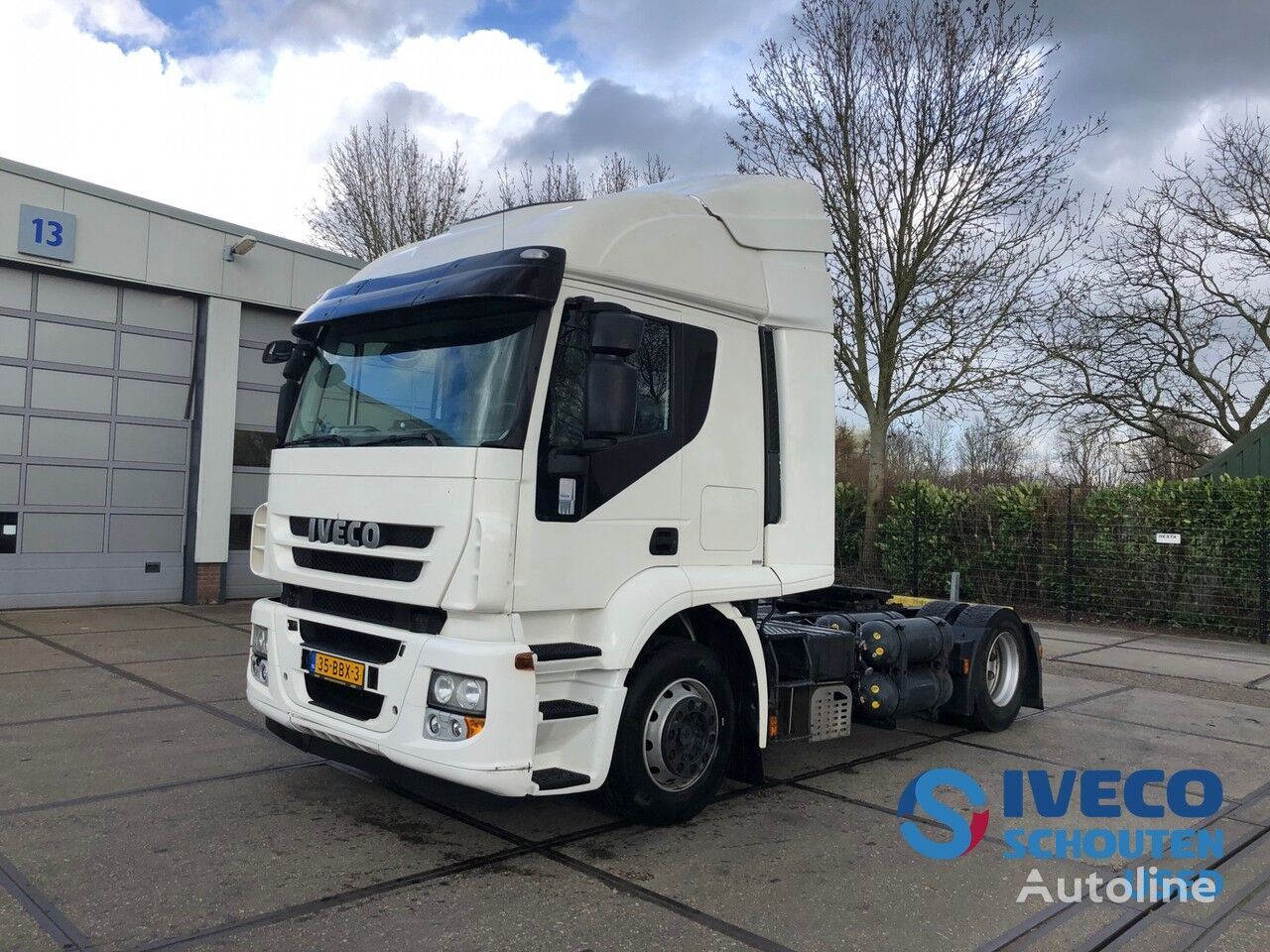 IVECO Stralis AT440S33T/P CNG LNG 2013 intarder Mautvrij Duitsland tot tractor unit