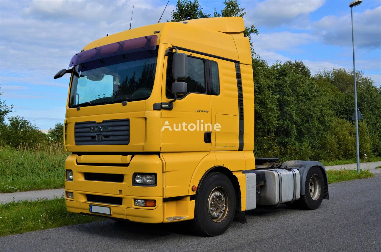 MAN TGA 18.400 AS-TRONIC RETARDER E4 tractor unit