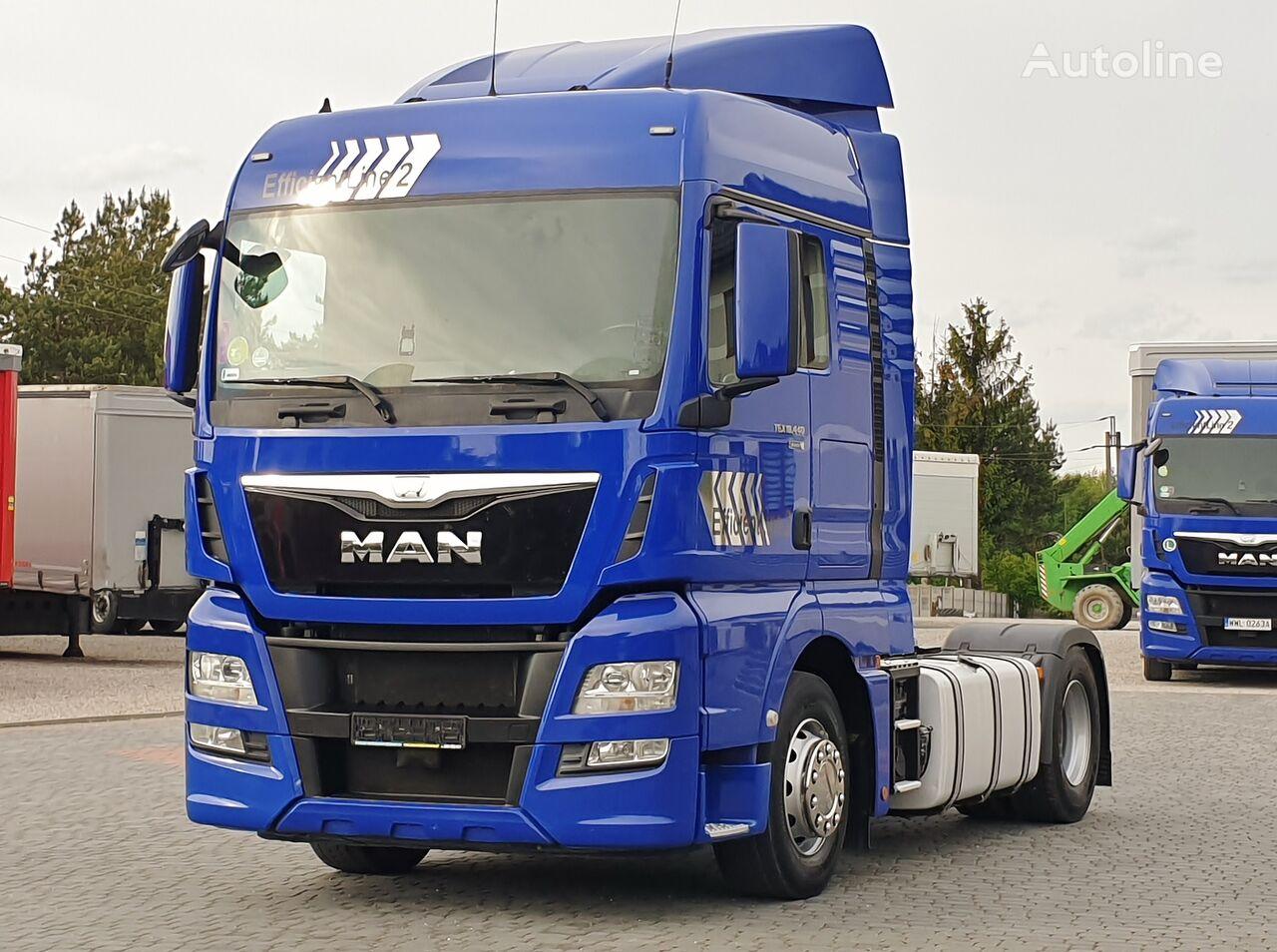 MAN TGX 18.440 EURO 6 STANDARD  AUTOMATIK Max Fuel TANKS * 2016 * tractor unit