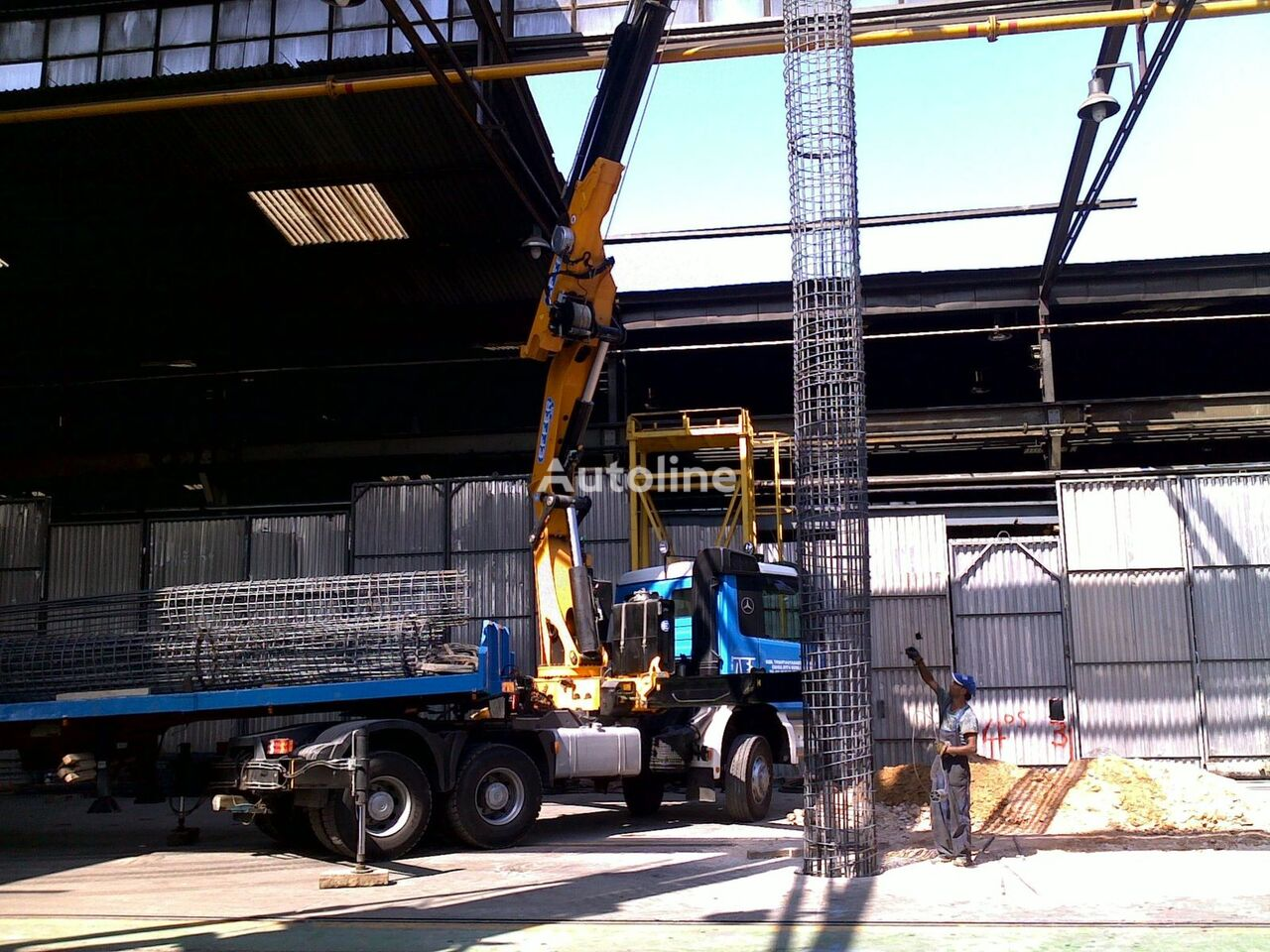 MERCEDES-BENZ 3340 EFFER 470 6S tractor unit