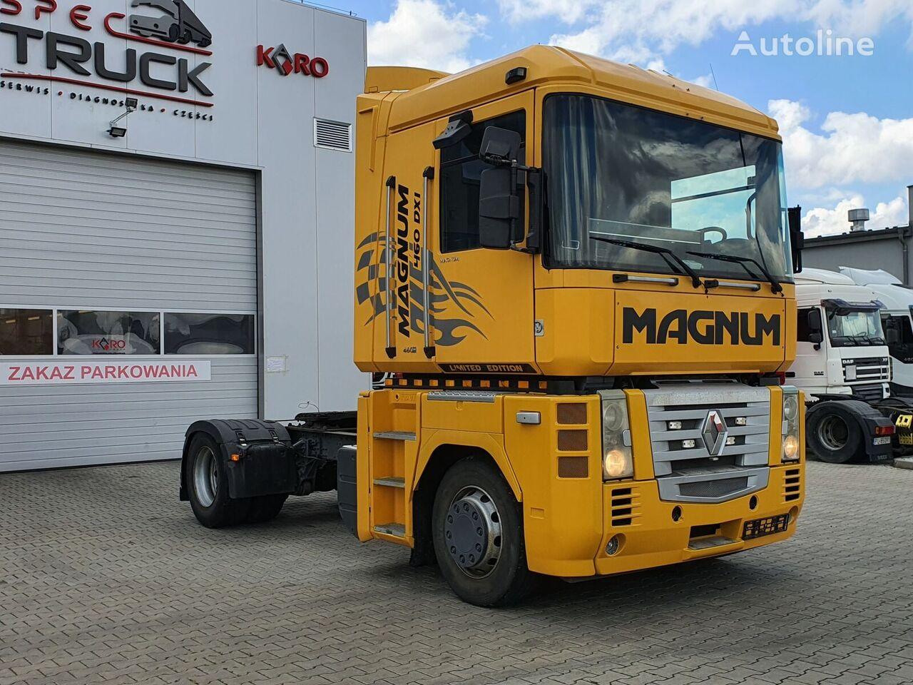 RENAULT Magnum 460 DXI, Steel /Air, Manual, EURO 5  tractor unit