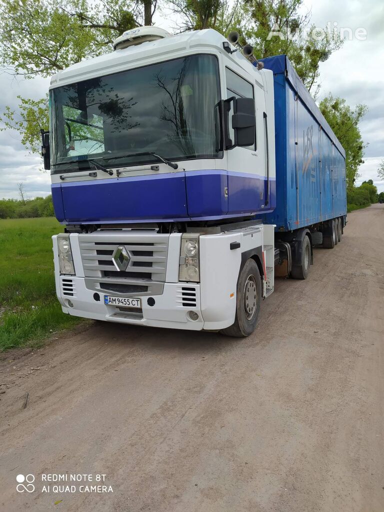 RENAULT Magnum 480 tractor unit + walking floor semi-trailer