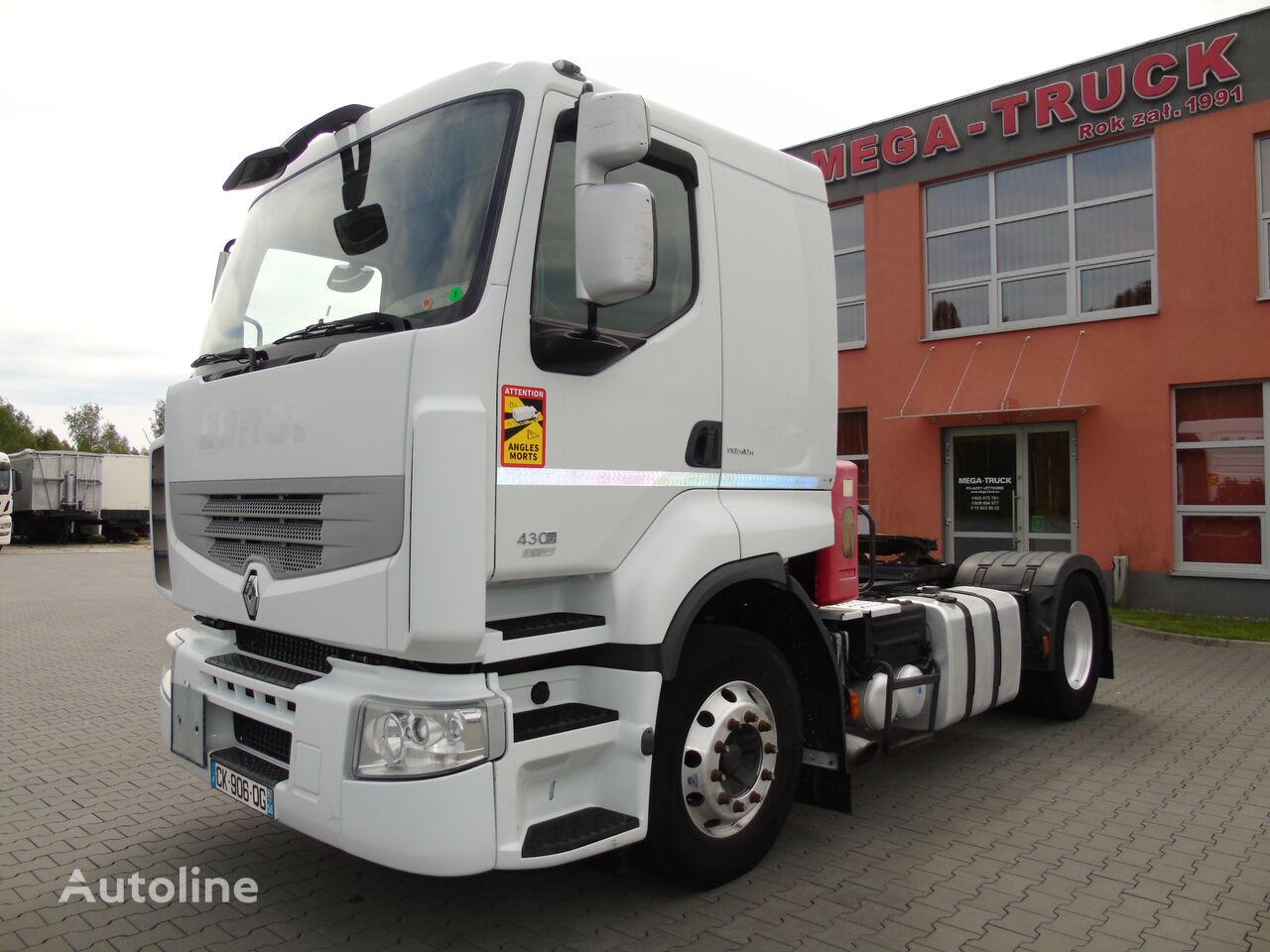 RENAULT PREMIUM 430 EEV ADR-FL RETARDER-VOITH BLOKADA waga 6450kg tractor unit
