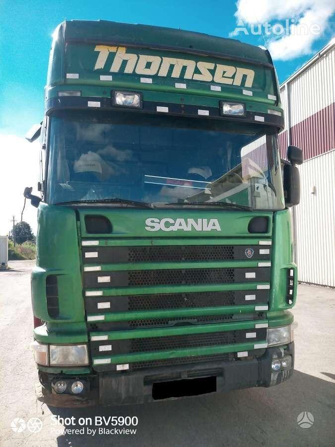 SCANIA 124 420, semi-trailer trucks tractor unit for parts