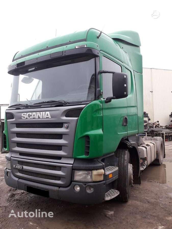SCANIA R-124, semi-trailer trucks tractor unit for parts