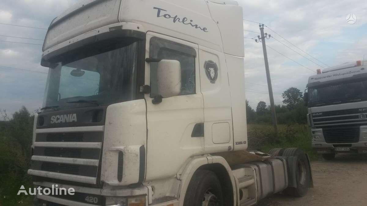 SCANIA R420, semi-trailer trucks tractor unit for parts