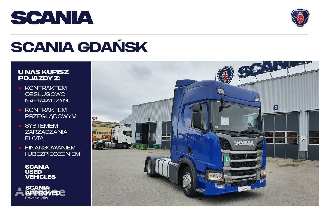 SCANIA R450A4X2EB MEGA tractor unit