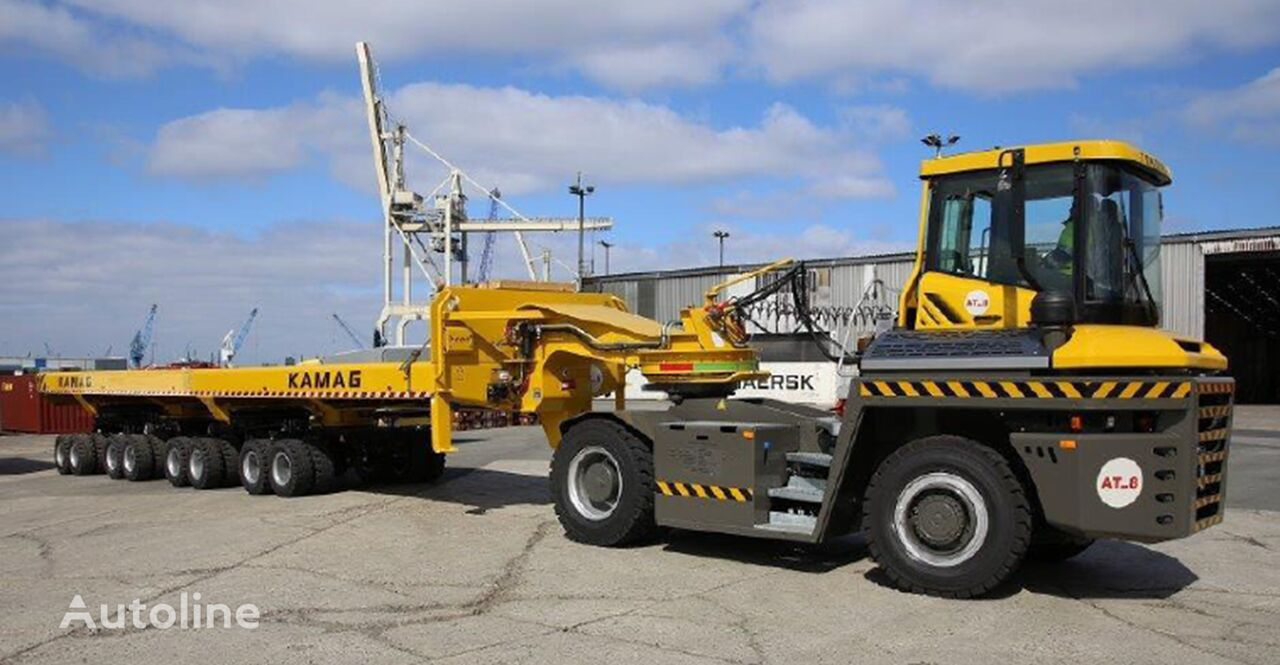 TERBERG RT 403 4 x 4 tractor unit + low bed semi-trailer
