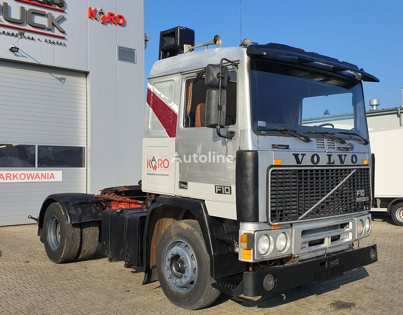 VOLVO F10 360, Full Steel, Manual tractor unit