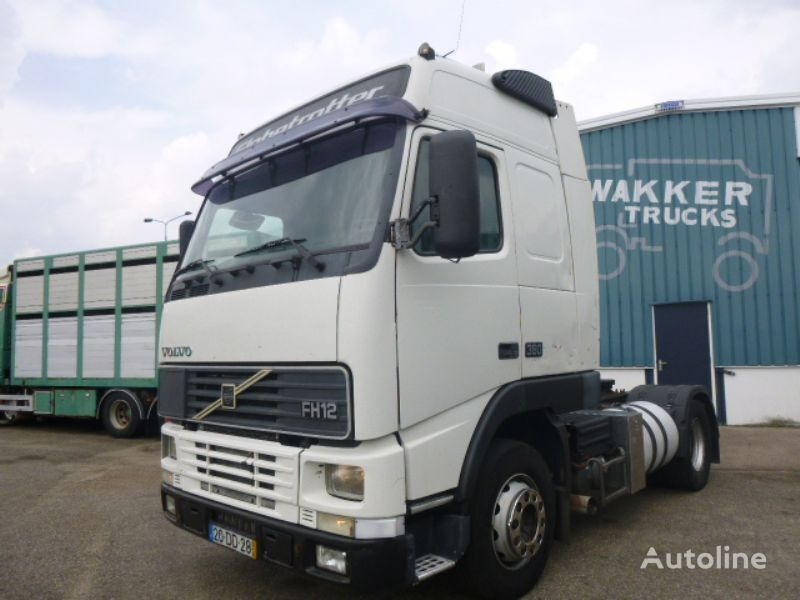 VOLVO FH12 380 MANUAL tractor unit