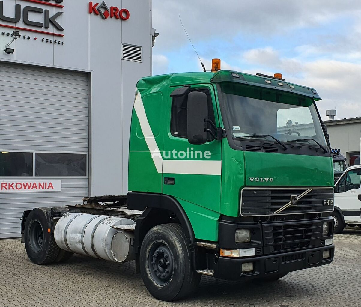 VOLVO FH12 380, Steel /Air, Manual, Euro 2  tractor unit