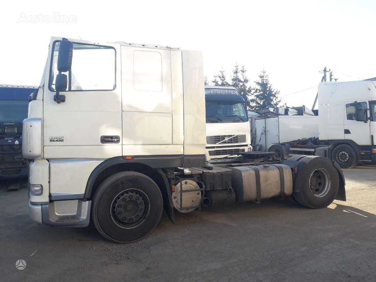 DAF 95 XF tractor unit for parts