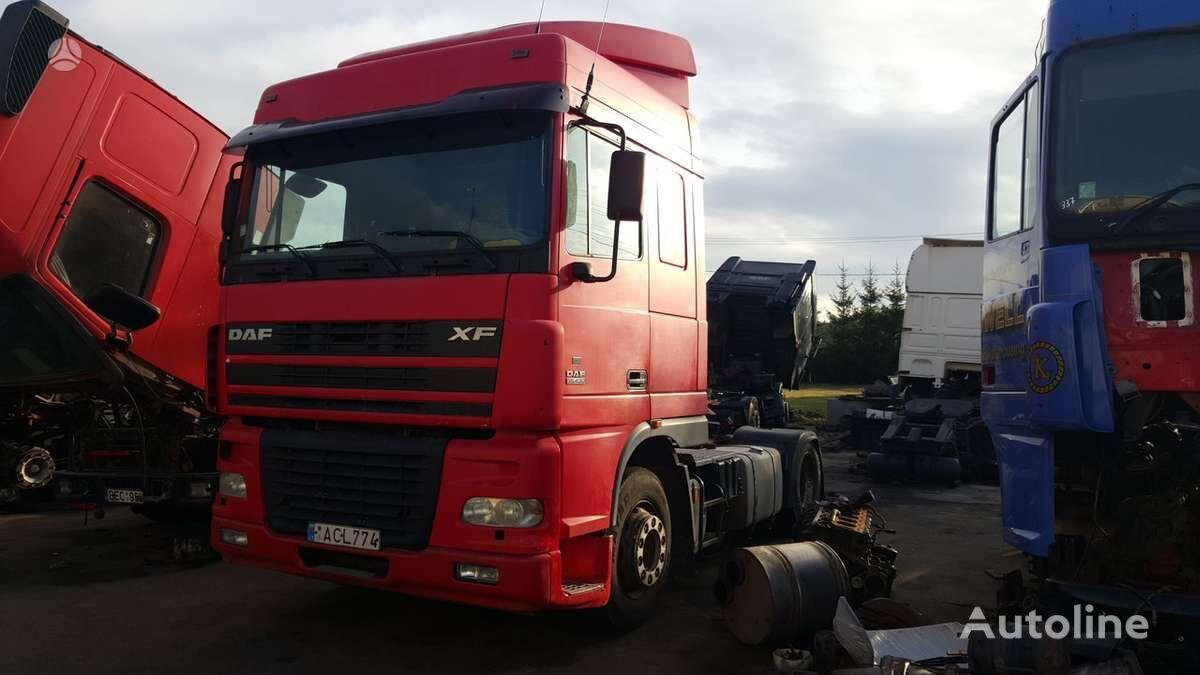 DAF 95 XF, semi-trailer trucks tractor unit for parts