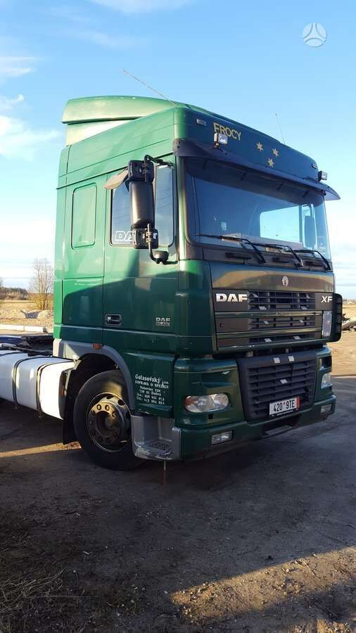 DAF 95 XF, semi-trailer trucks tractor unit for parts