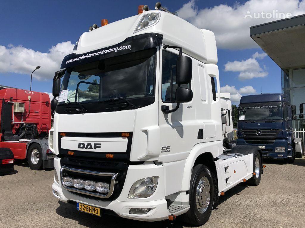 DAF CF 440 CF 440 FT + SPOILERS + EURO 6 + ALCOA + NAVI tractor unit