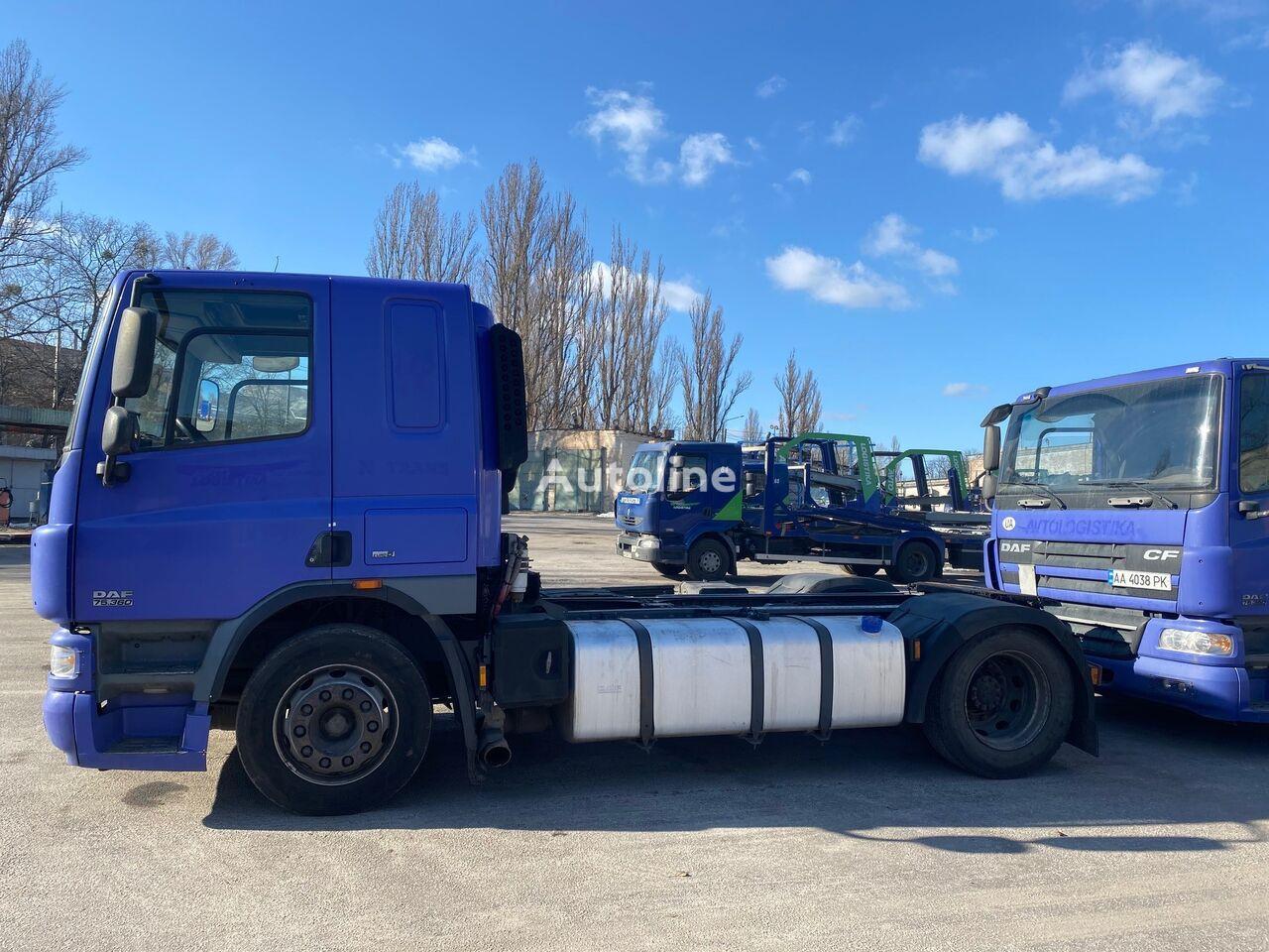 DAF CF 75 EURO5 pod Samosval, Bochku, Avtovoz tractor unit