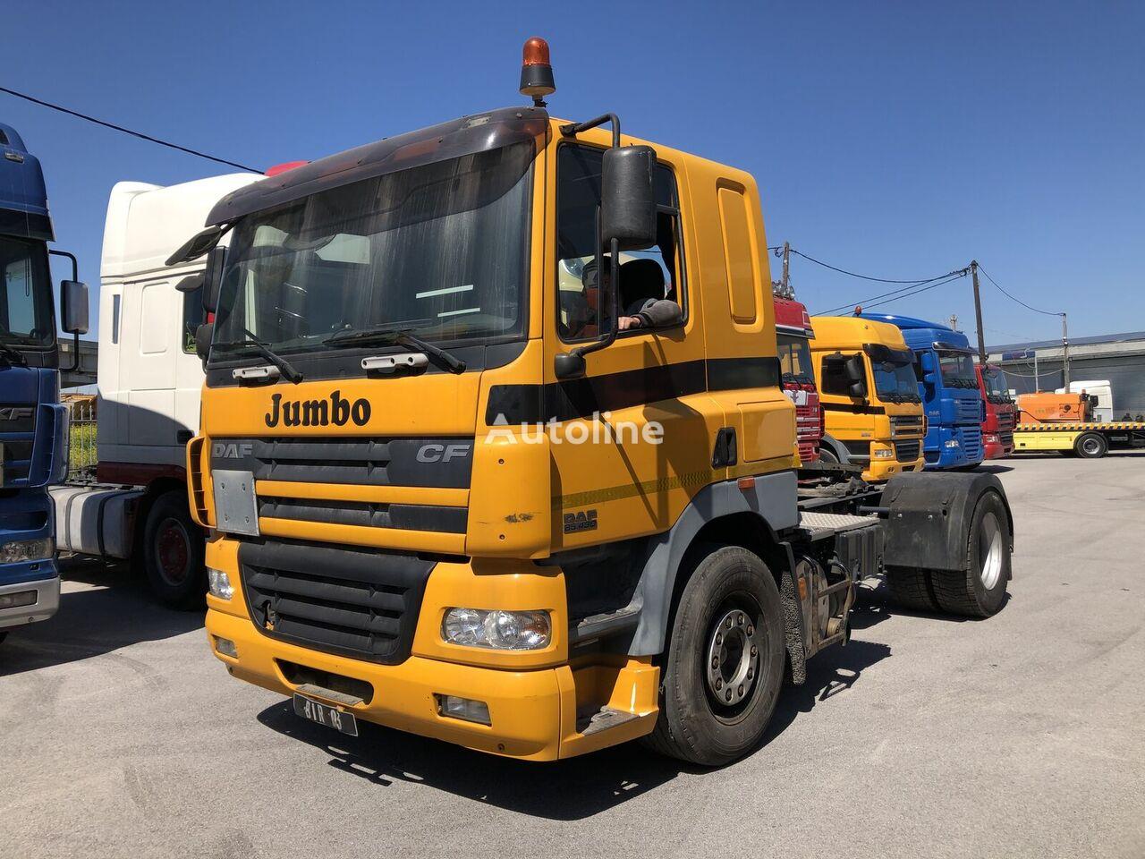 DAF CF85.430 LOW CAB EURO3 ADR tractor unit