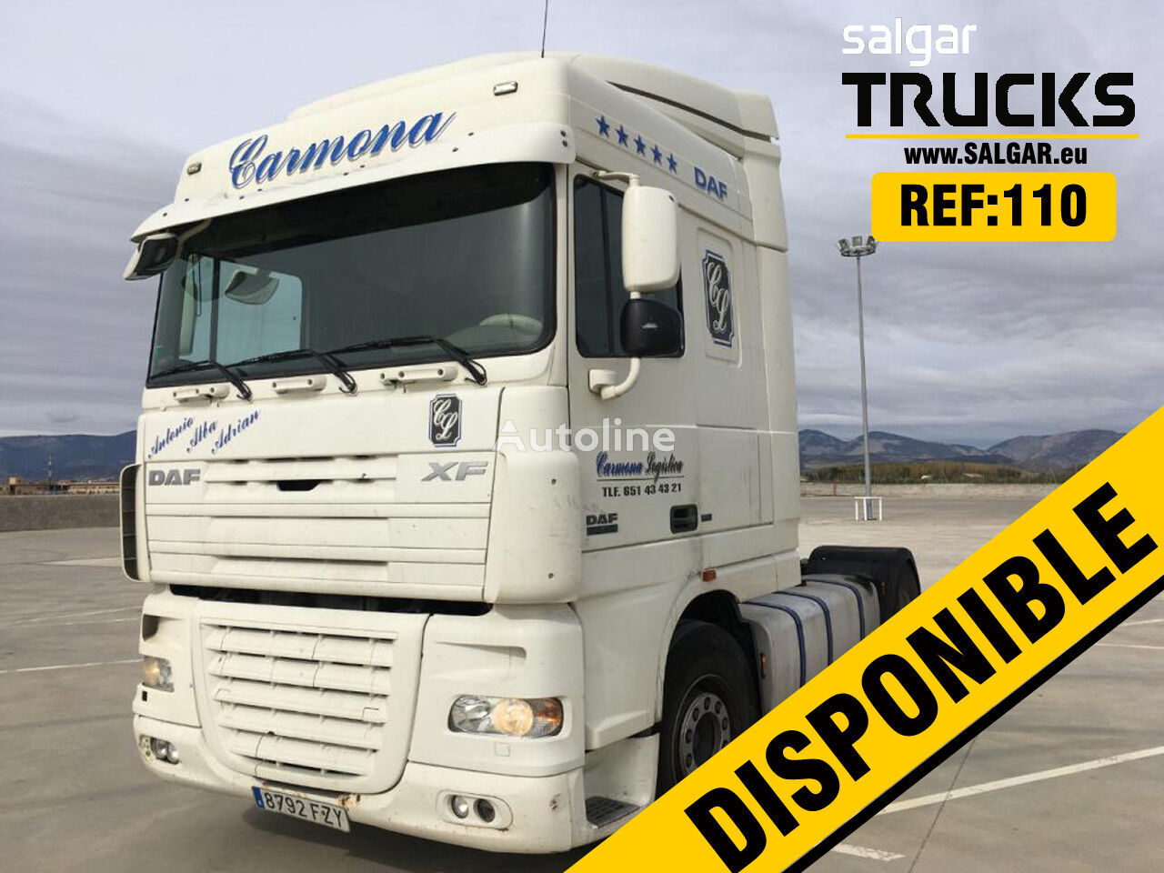 DAF FT XF 105 460 tractor unit