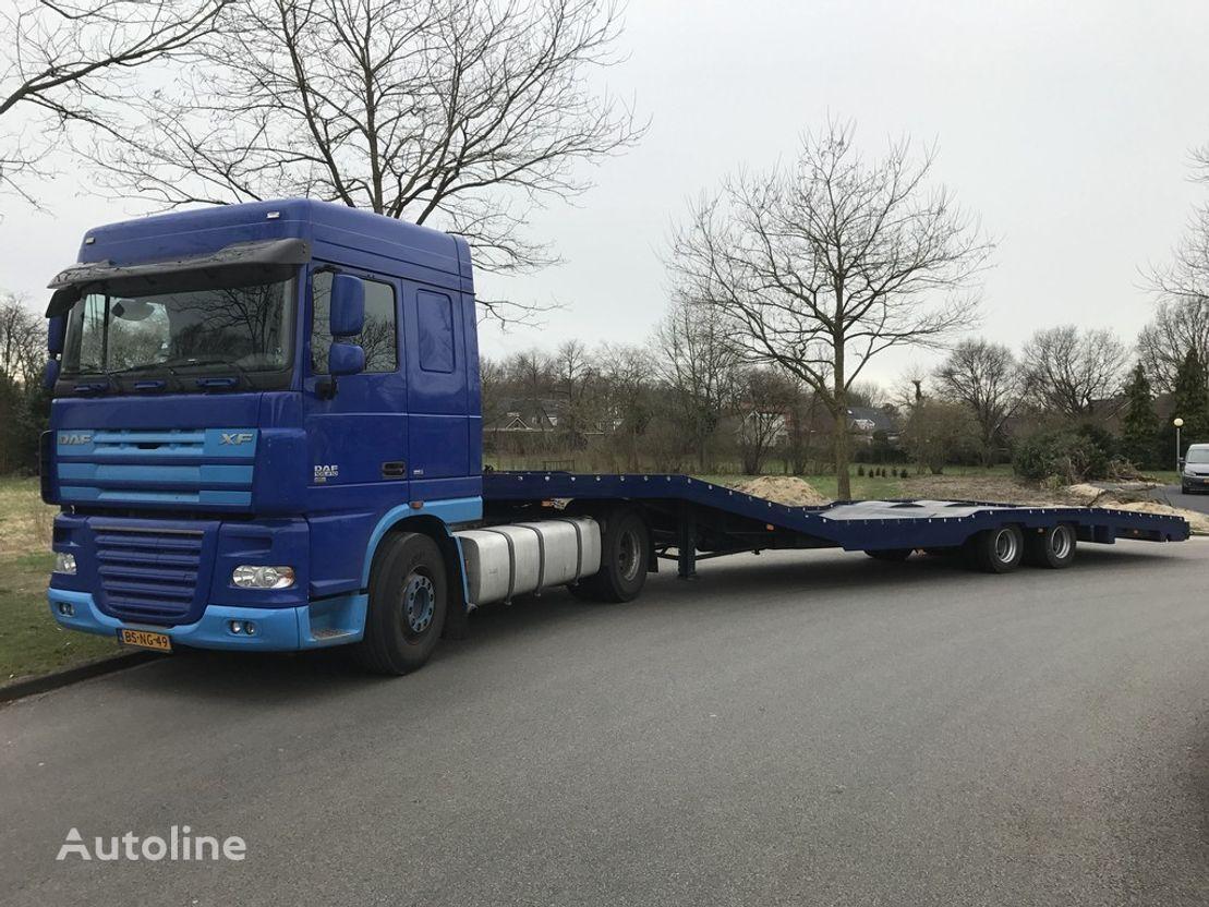 DAF XF tractor unit + car transporter semi-trailer