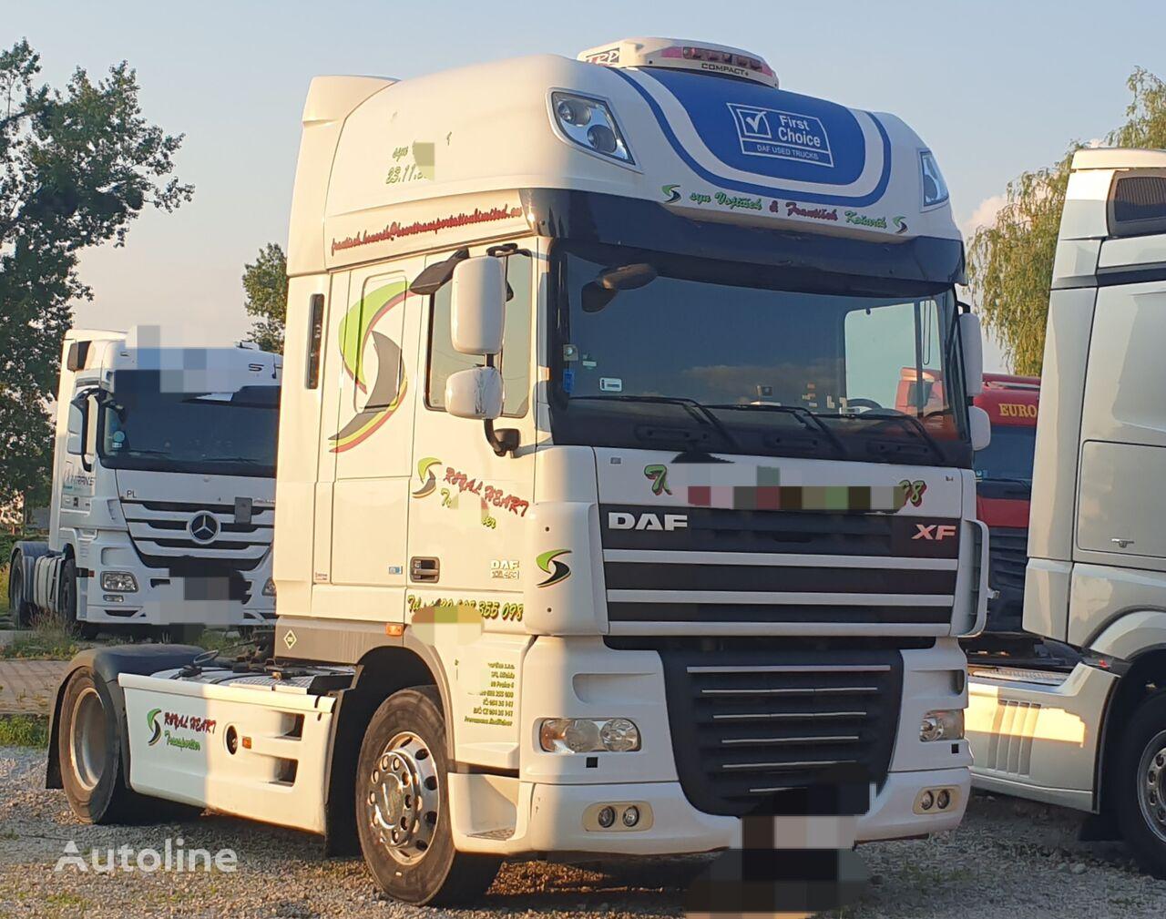 DAF XF 105 460 tractor unit