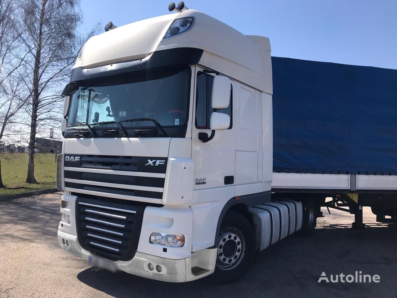 DAF XF 105 460 Manual Retarder tractor unit