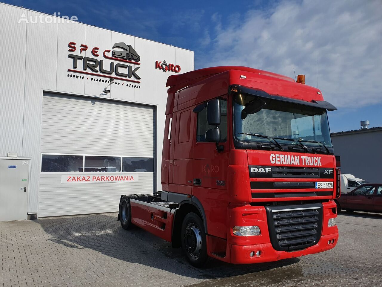 DAF XF 105 460, Steel/Air, Automat , Very good condition  tractor unit