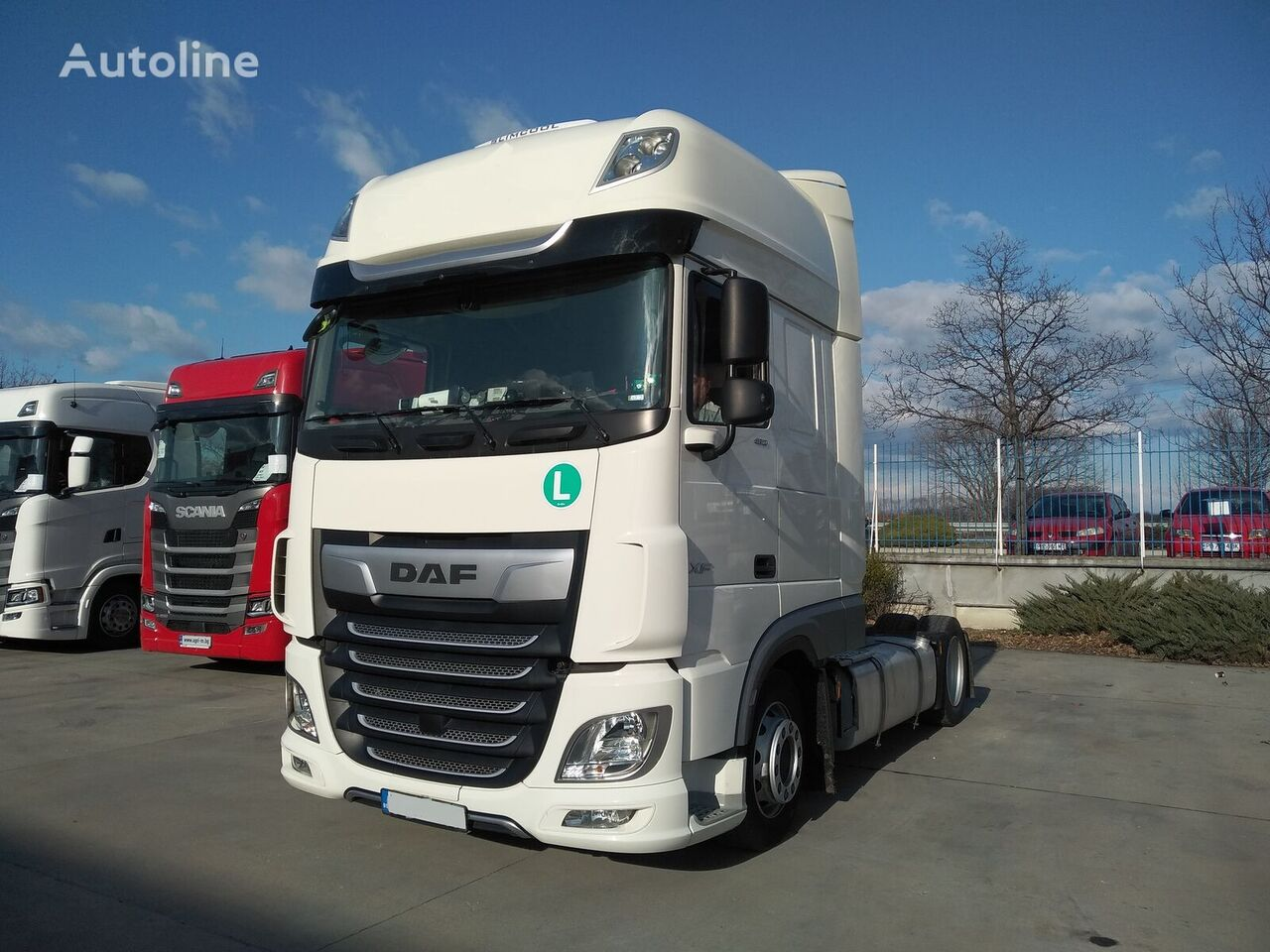 DAF XF 105 480 FT tractor unit
