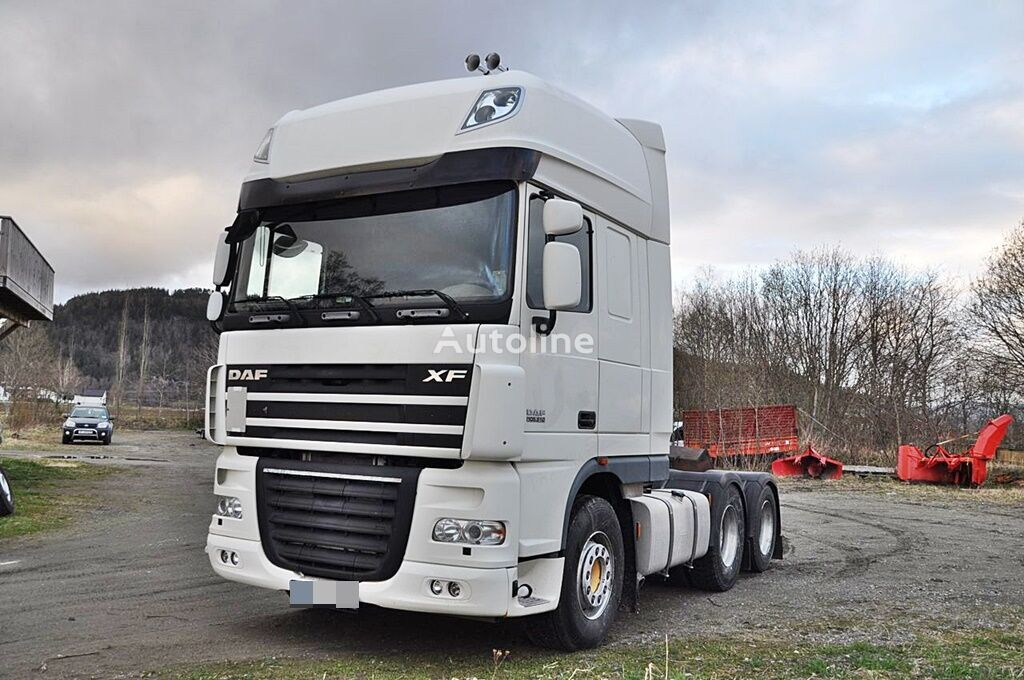 DAF  XF 105 510 6x2 *350tkm*1 Owner*Euro 4 tractor unit
