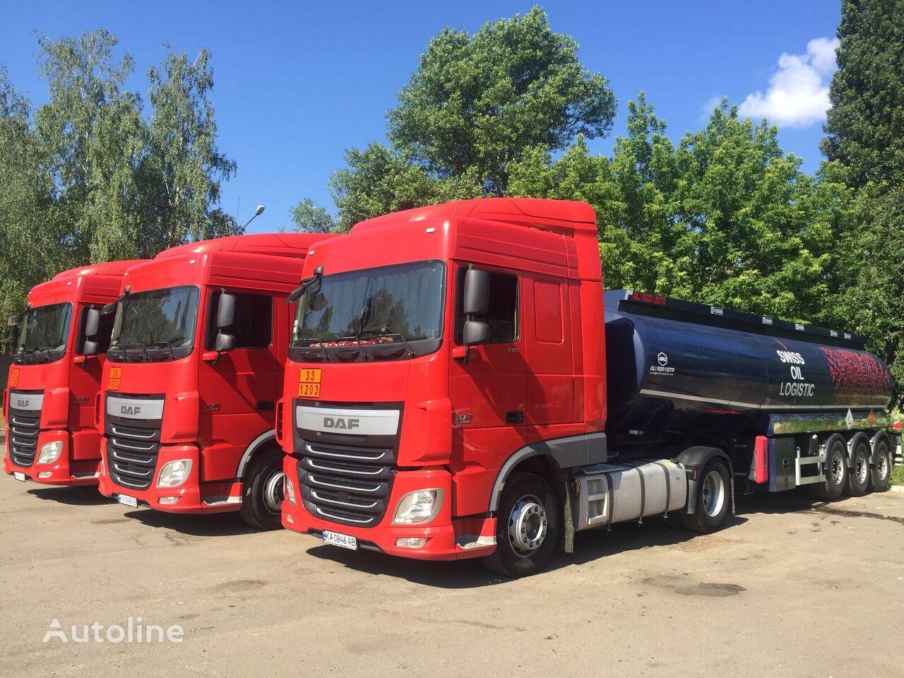 DAF XF 106 tractor unit + fuel tank trailer