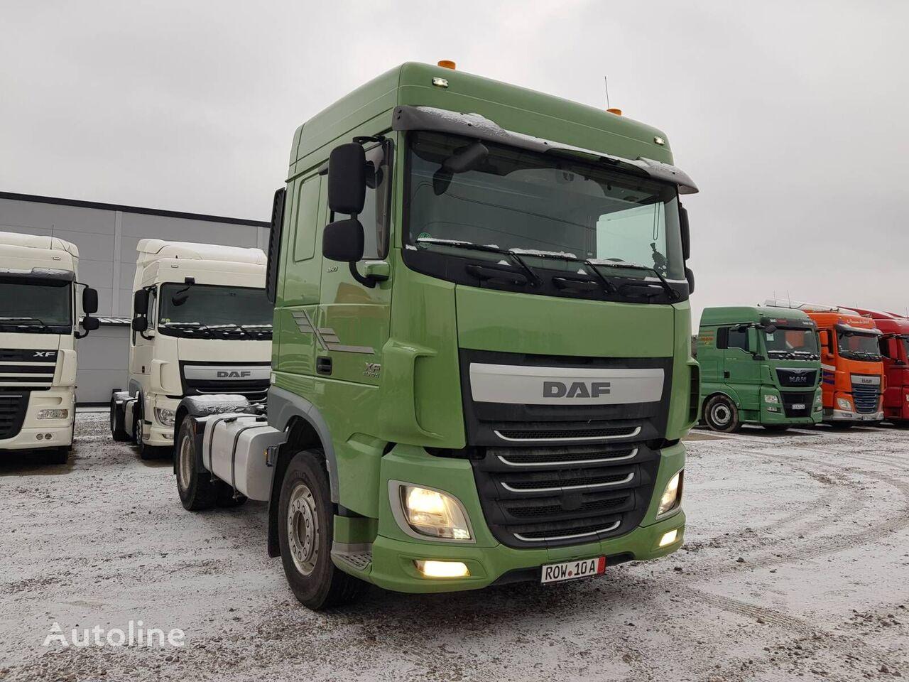 DAF XF 106 460 EURO 6 Hydraulic tractor unit