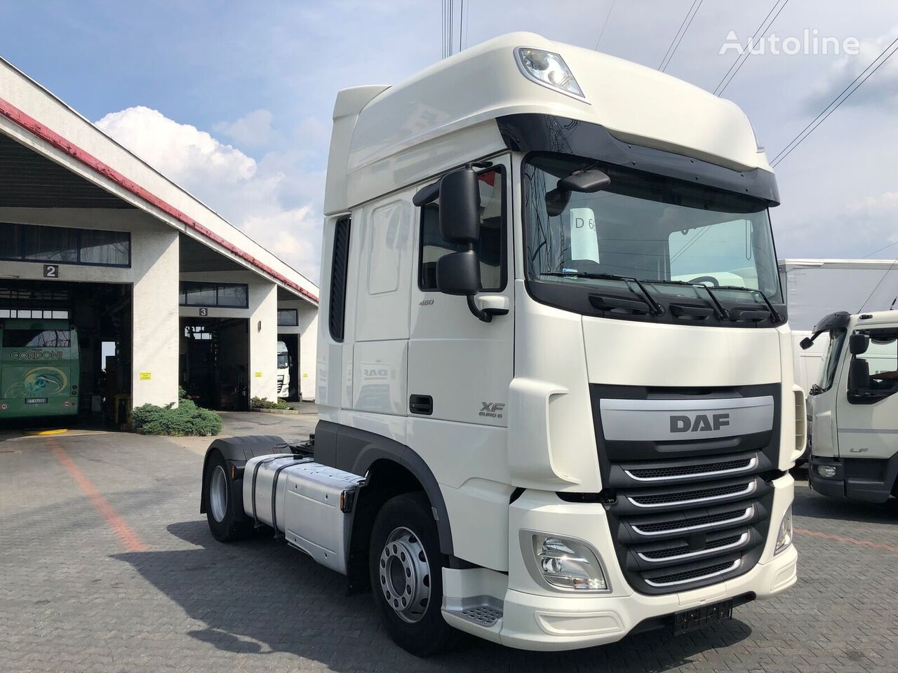 DAF XF 460 FT VIDEO tractor unit