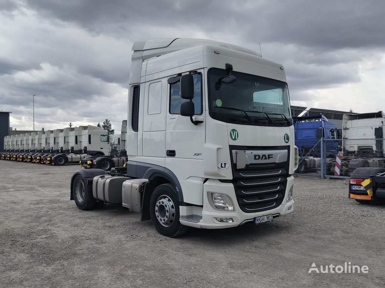 DAF XF 480 EURO 6 tractor unit