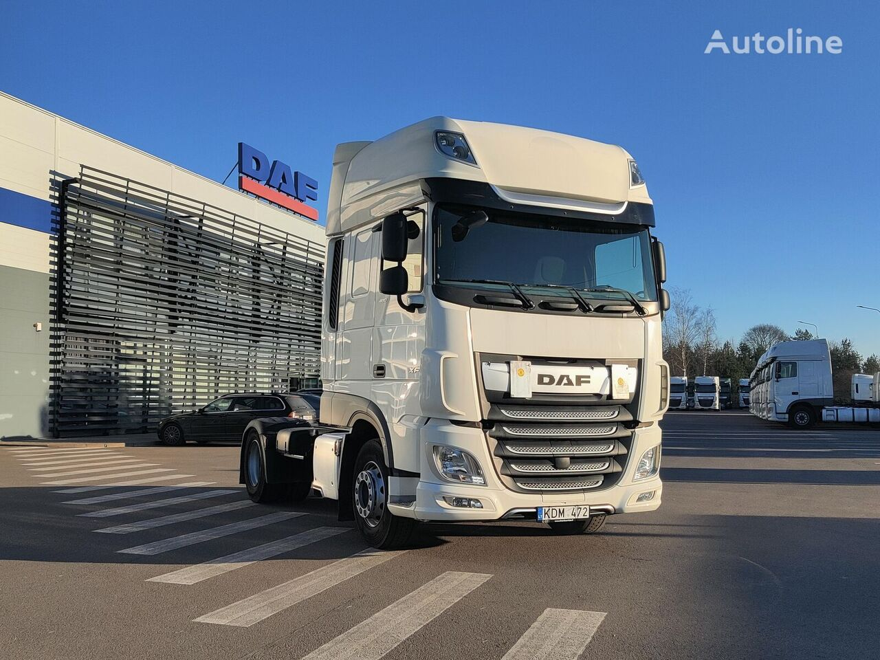 DAF XF 480 FT tractor unit