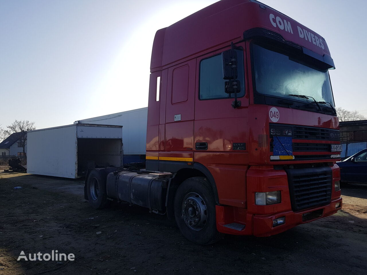 DAF XF 95 430 tractor unit