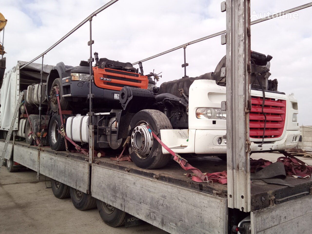 DAF XF105 tractor unit for parts