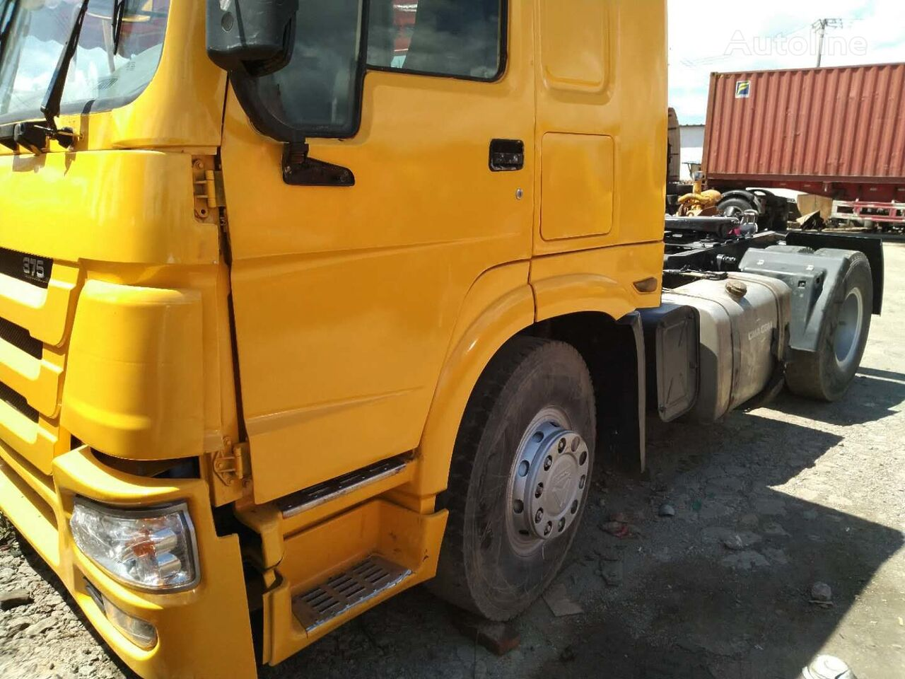 HOWO 375 tractor unit