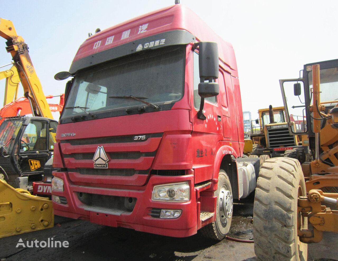 HOWO 375 HEAD TRUCK tractor unit