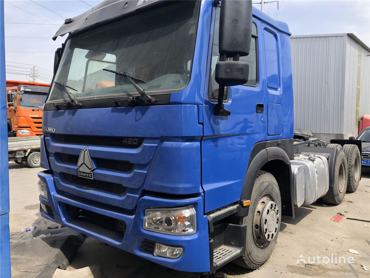 HOWO 420 tractor unit
