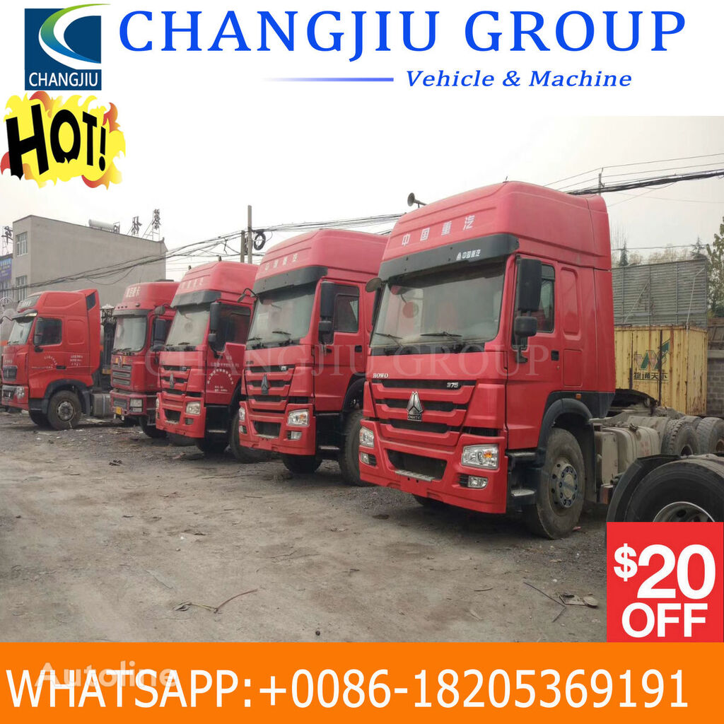 HOWO HOWO USED TRACTOR TRUCK tractor unit