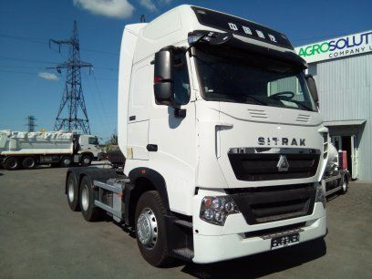 new HOWO T7H tractor unit