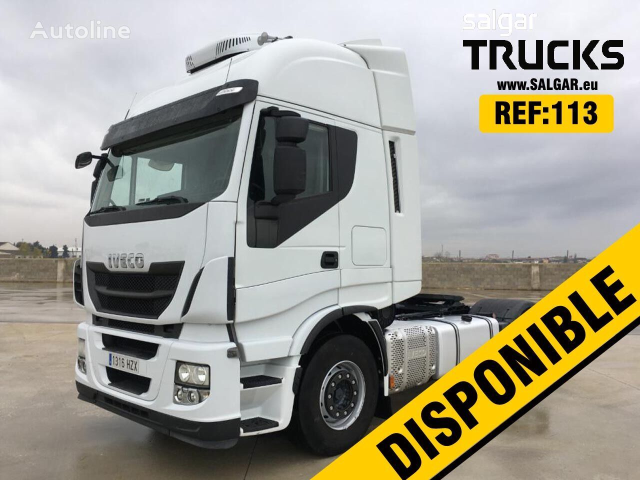 IVECO AS440S50 tractor unit