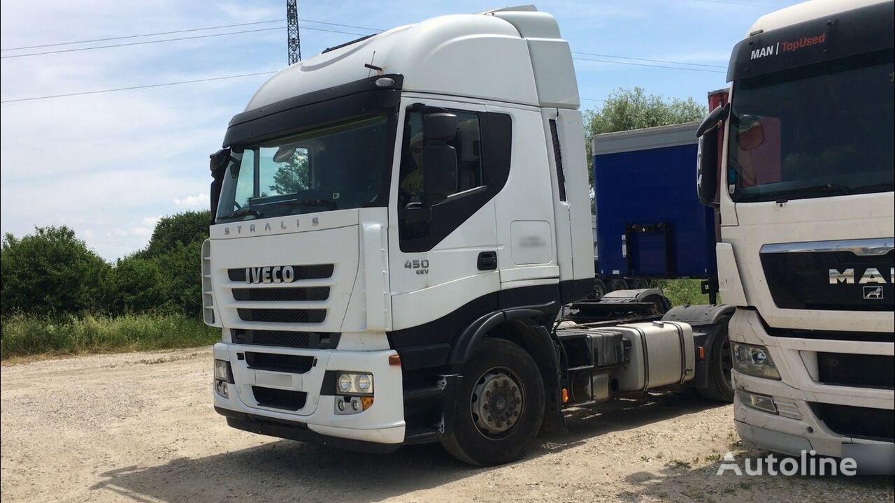 IVECO Stralis 450 EEV, retarder tractor unit