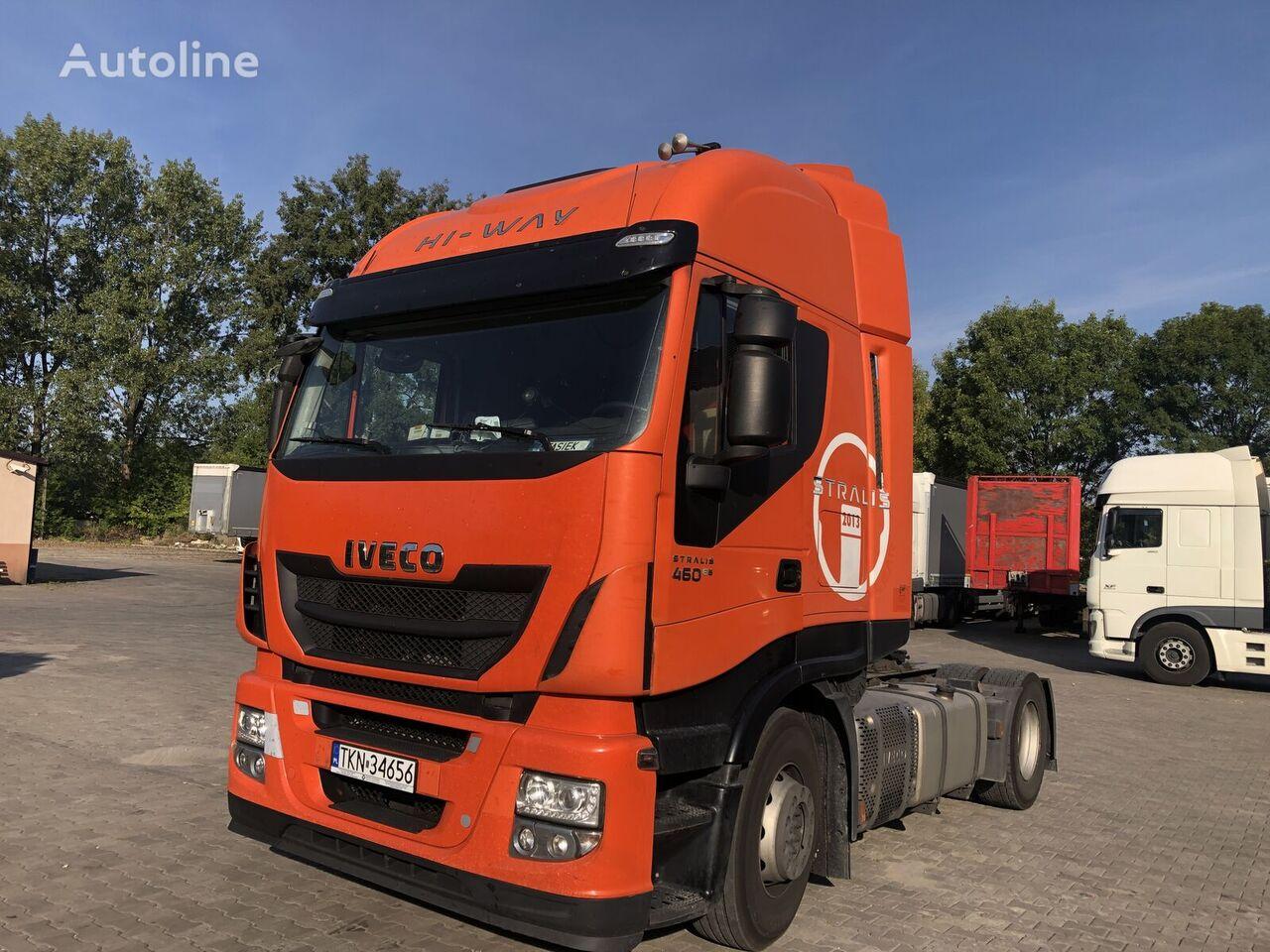 IVECO Stralis 460, HI-Way, Euro6, Klimatr., I Hand, 2szt. tractor unit