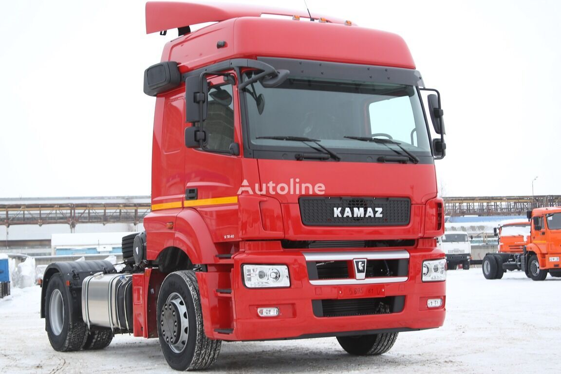 new KAMAZ 5490 tractor unit